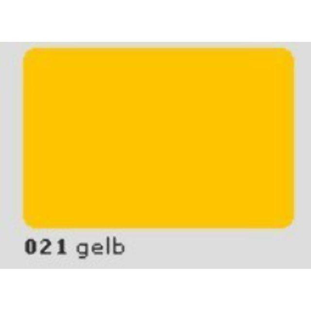 Oracal 651 Plotterfolie 63cm x 5m gelb 021