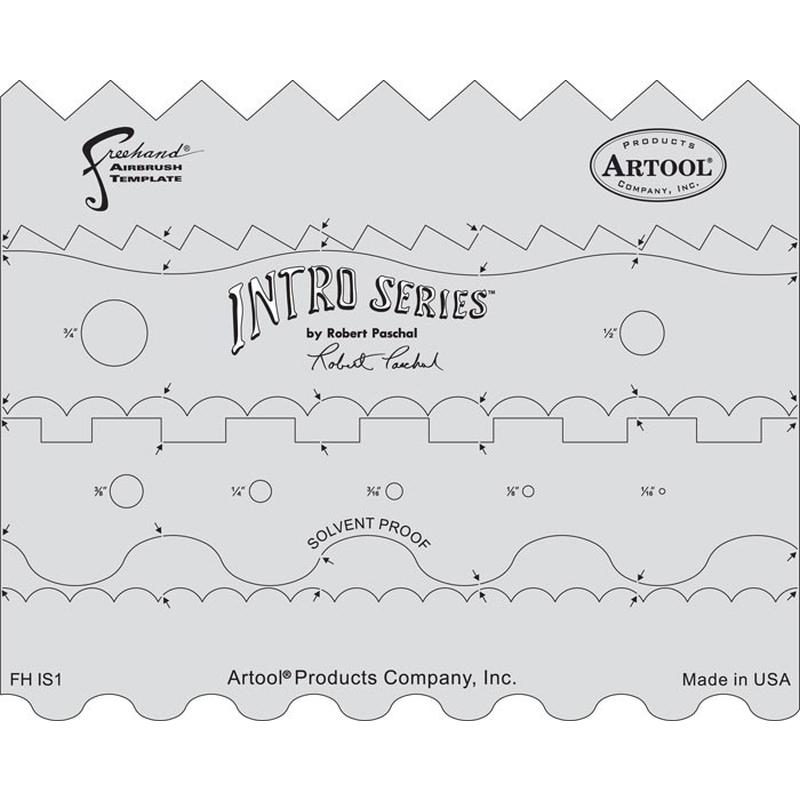 artool Freihandschablone Intro Series 200 472