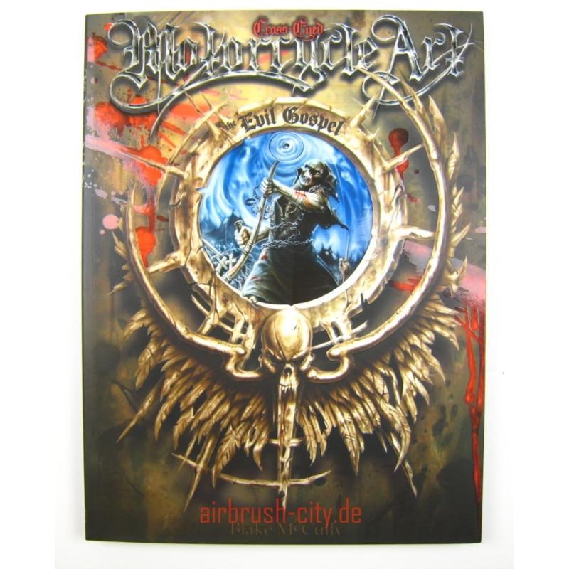 Buch Cross Eyed Motorcycle Art: The Evil Gospel 300 290 ***