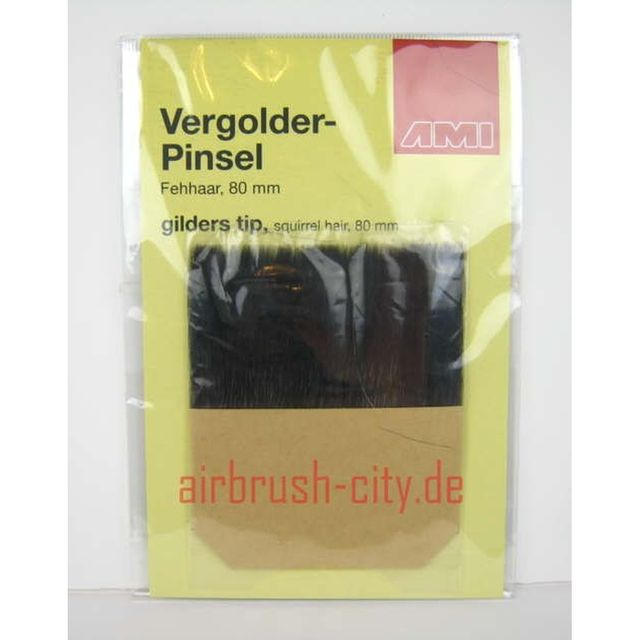 Vergolder Pinsel Anlegepinsel  8cm  501.016