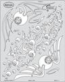 artool - Fly Ballz - Schablone Kustom Kulture FX 200 334