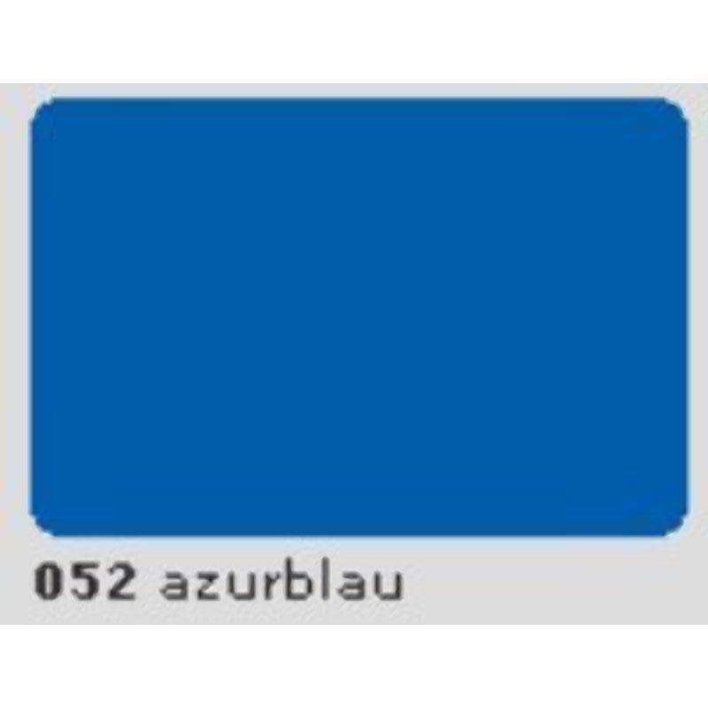 Oracal 651 Plotterfolie 63cm x 5m azurblau 052
