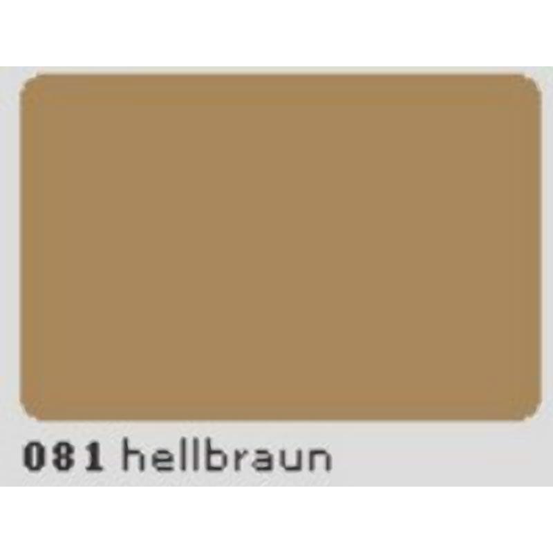 Oracal 651 Plotterfolie 63cm x 5m hellbraun 081