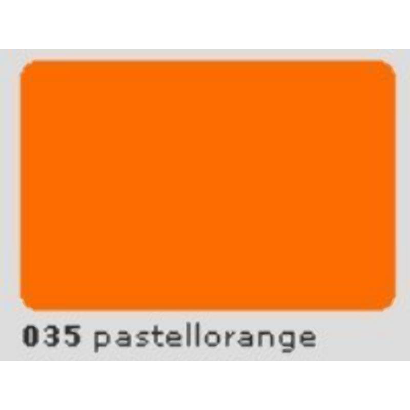 Oracal 651 Plotterfolie 63cm x 5m pastellorange 035