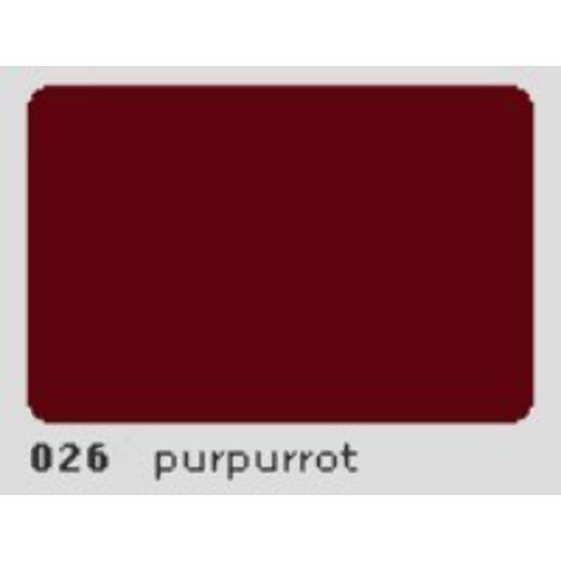 Oracal 651 Plotterfolie 63cm x 5m purpurrot 026