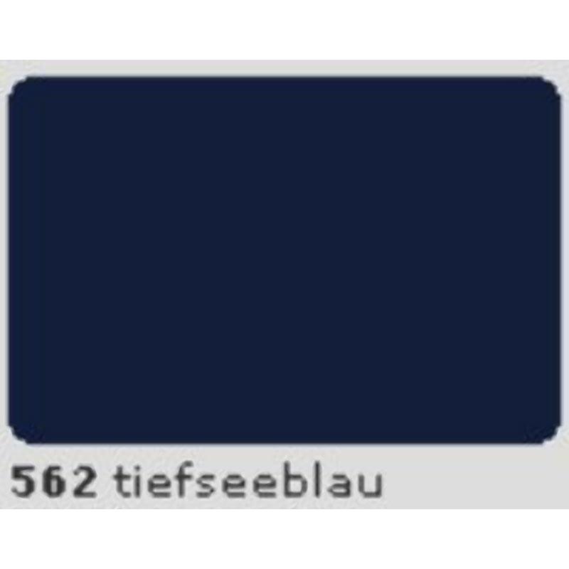 Oracal 651 Plotterfolie 63cm x 5m tiefseeblau 562