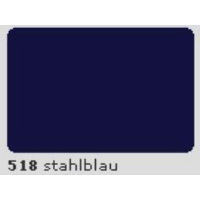 Oracal 651 Plotterfolie 63cm x 5m stahlblau 518