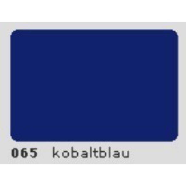 Oracal 651 Plotterfolie 63cm x 5m kobaltblau 065