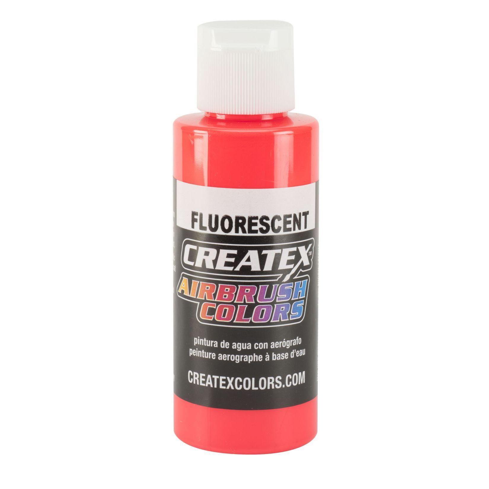 fluorescent Leuchtrot Createx Airbrush Colors Farbe 120ml 12 5408 Createx