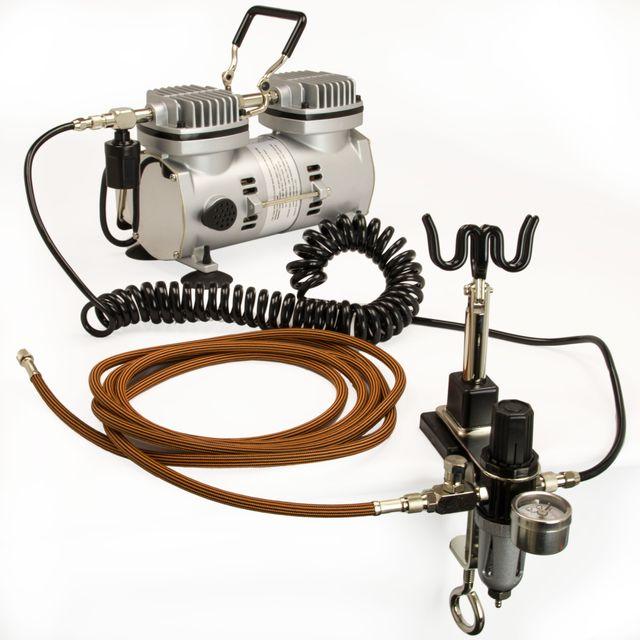 Sparmax TC-2000 Airbrush Kompressor Neu