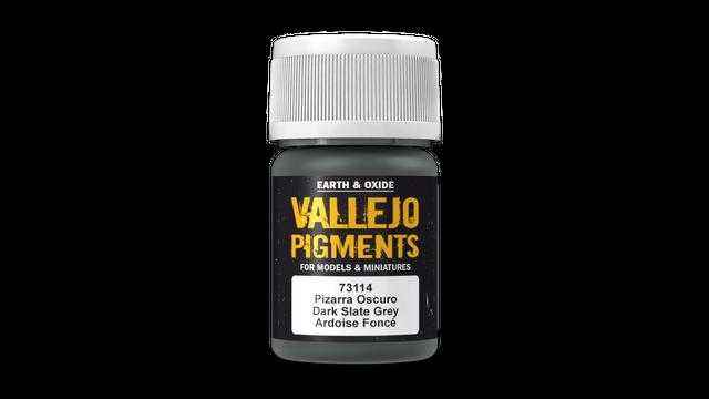Vallejo 30ml Pigments Dark Slate Grey 73114