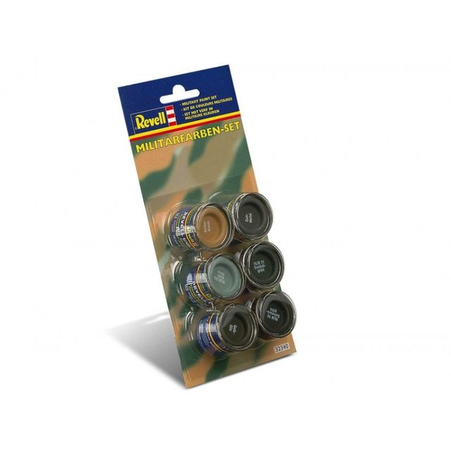 Revell Email Color 6x14ml Militaerfarben-Set  32340