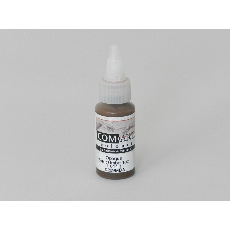 IWATA Medea Com-Art Burnt Umber 28ml Opaque VIM10141 Airbrushfarbe