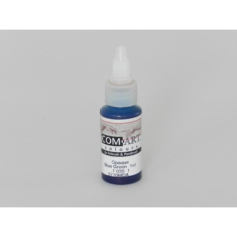 IWATA Medea Com-Art Blue Green 28ml Opaque VIM10391 Airbrushfarbe
