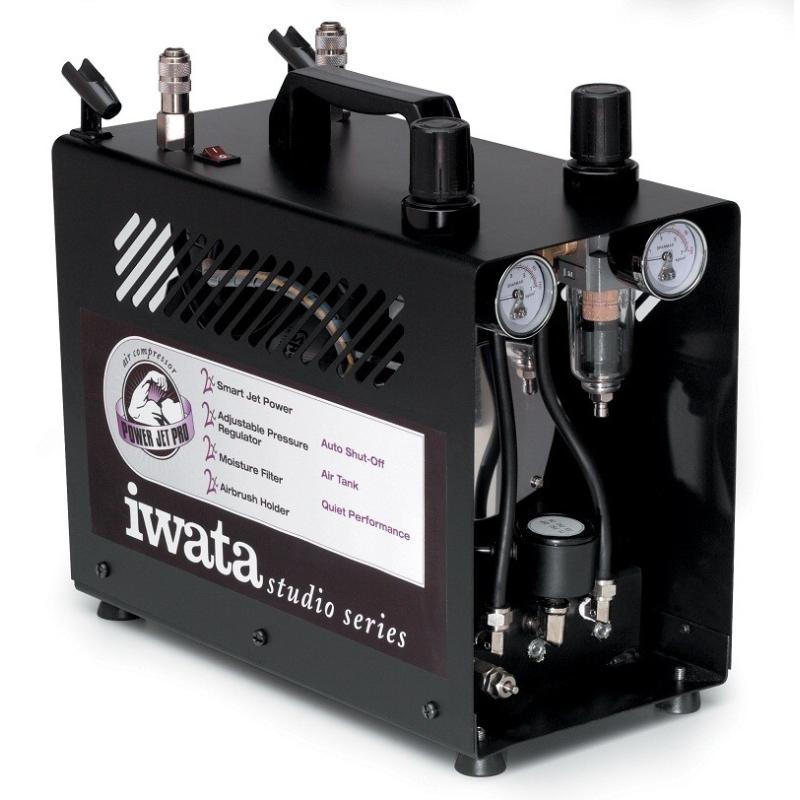 iwata IS-975 Power Jet Pro Airbrush Kompressor