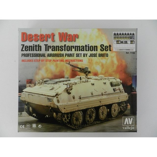 Model Air 571153 Desert WAr Zenith Transformation Airbrush Farben Set