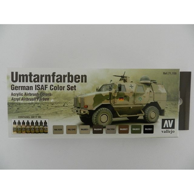 Model Air 100 416 Model Air Umtarnfarben German ISAF Color Airbrush Farben Set