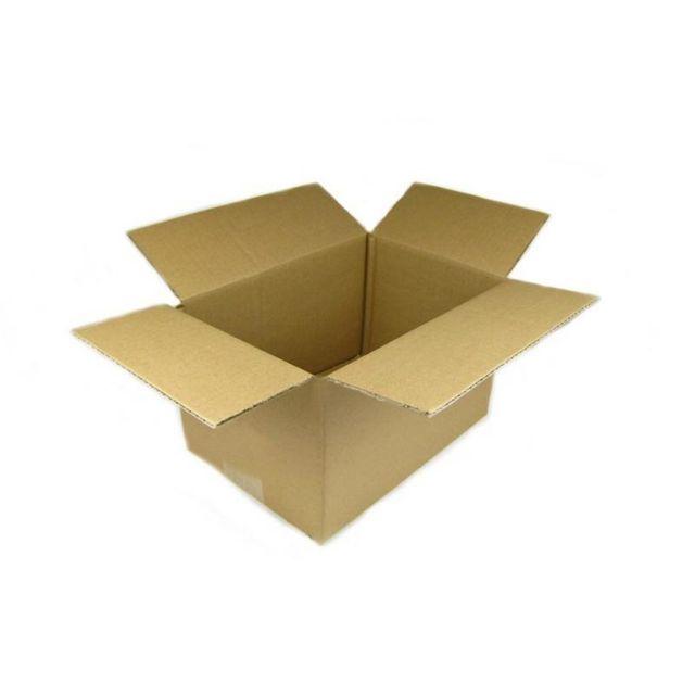 Karton 180x130x130 mm Versandkarton 50 Stück Faltkarton Braun