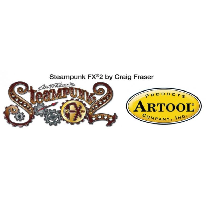 artool - STEAMPUNK FX2 by Craig Fraser - Mini-Schablonenset 200524