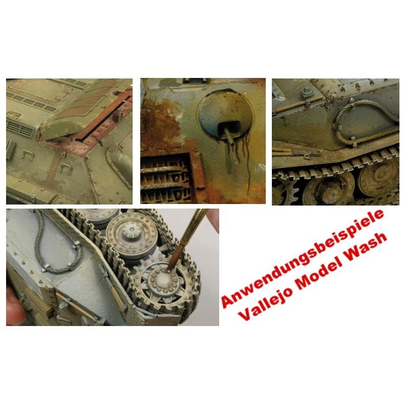 vallejo model wash white wash 35ml 76501 airbrush farbe. Black Bedroom Furniture Sets. Home Design Ideas
