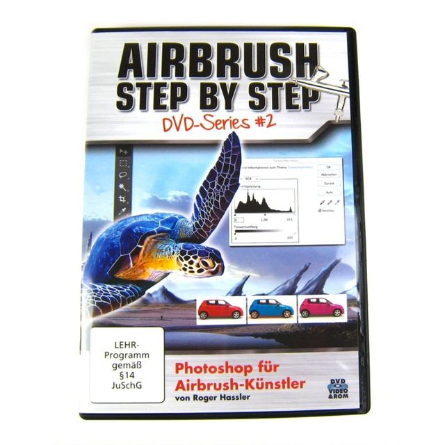 DVD Airbrush Step by Step DVD-Series 2 - Photoshop für Airbrush-Künstler