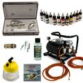 Airbrush Set Modellbau - Ultra Two in One + Sparmax AC-500 Kompressor - Kit 9005