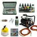 Fine-Art Airbrush Set - Infinity Two in One + Sparmax AC-500 Kompressor - Kit 9210