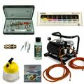 Custom-Painting Airbrush Set - Infinity Two in One + Sparmax AC-500 Kompressor - Kit 9310