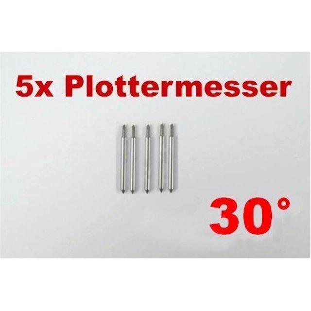 5x Plottermesser 30° für Roland PowerCut Masterplott Copam Plotter Schneideplotter