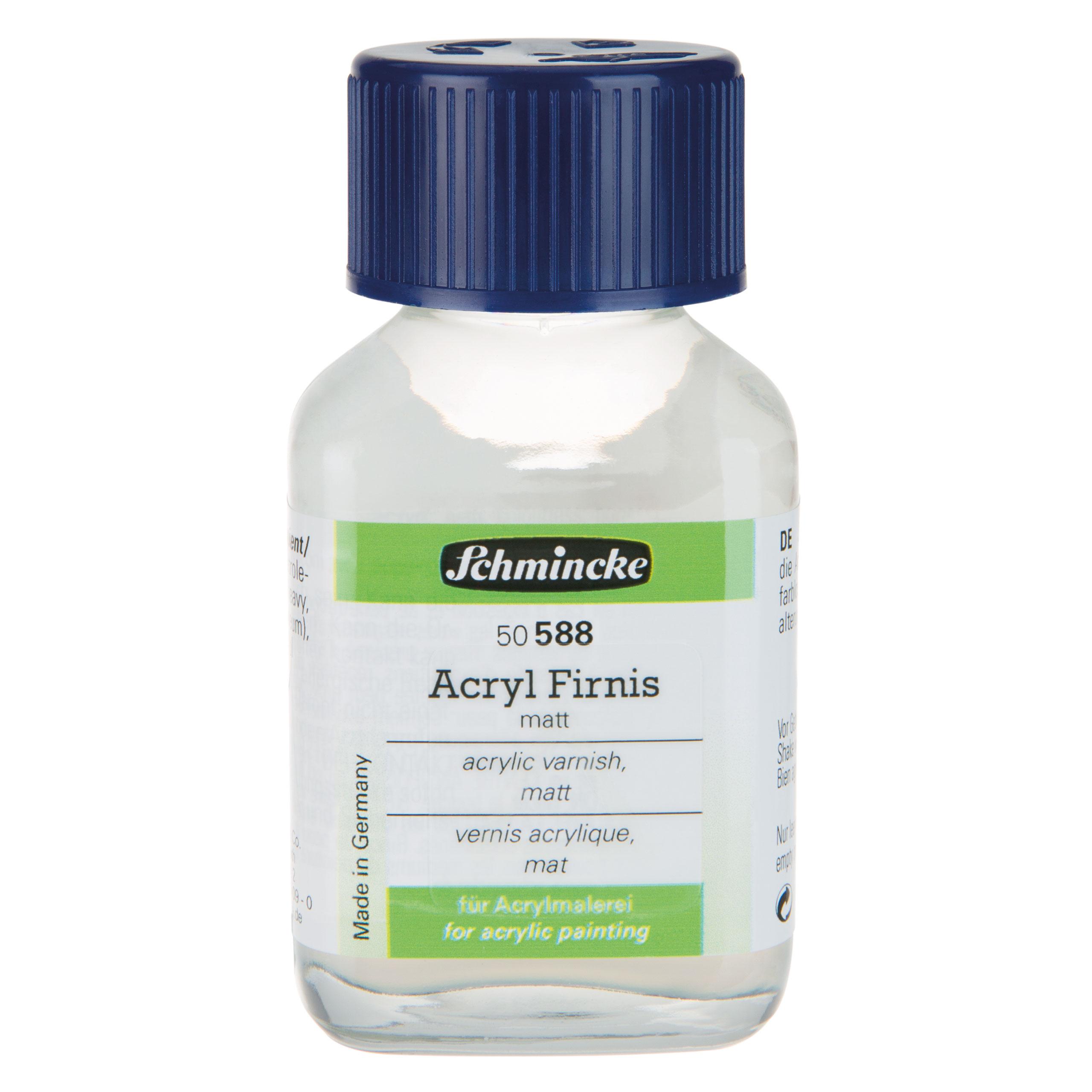 Acryl Firnis, matt - 60ml Acrylbild versiegeln Schmincke 50 588 025