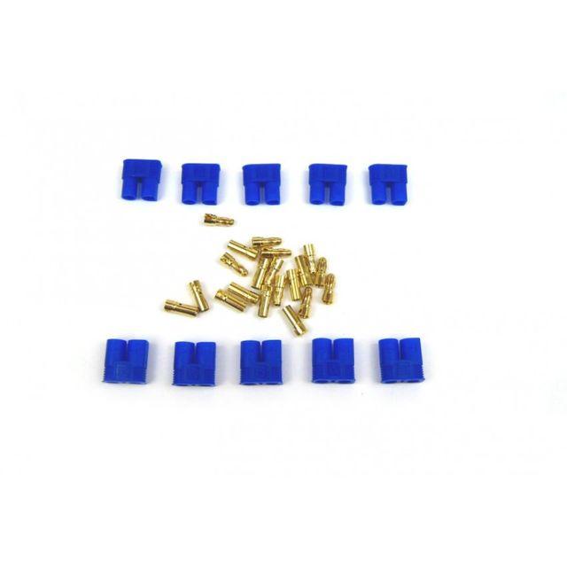 EC3 Stecker Buchse 5 Paar EC3-Stecker Goldkontakte 3,5mm