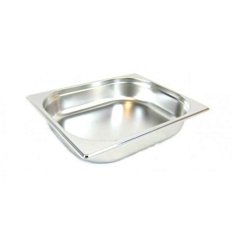 GN 1/2 Gastronormbehälter GN-Behälter Edelstahl 4 Liter Tiefe 65mm