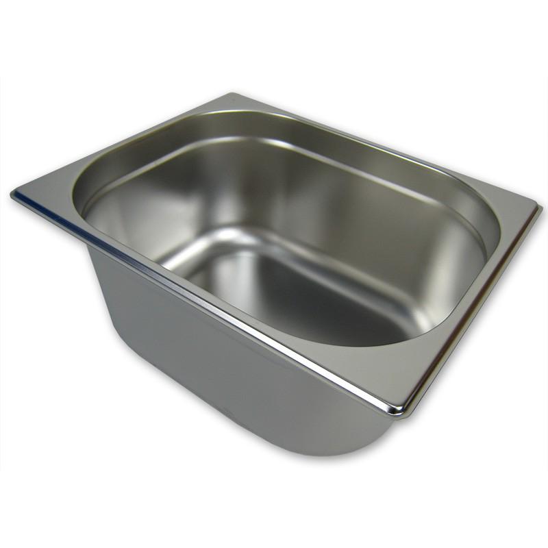 GN 1//2 Gastronormbehälter GN-Behälter 9,5 Liter Tiefe 150mm Kunststoff schwarz