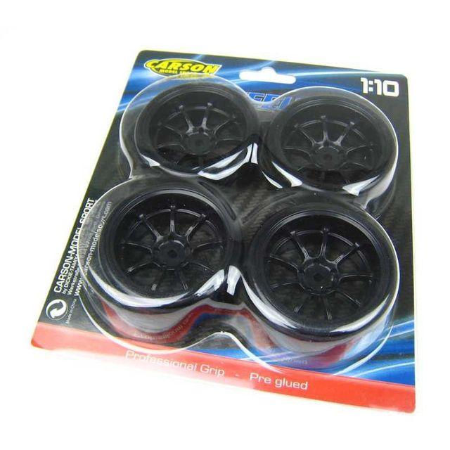 Carson Drift Tire Set 1/10  500900616 Rädersatz