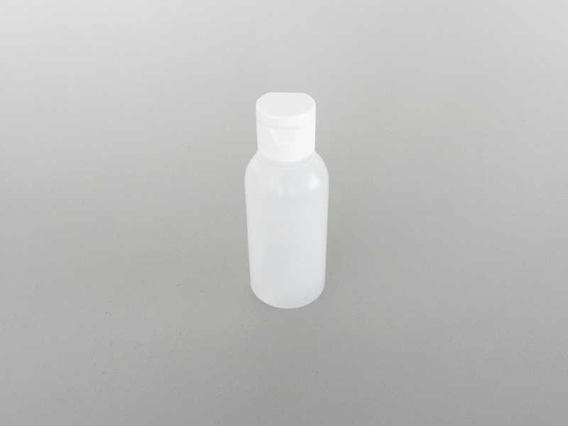 Createx Leerflasche 50ml LDPE/HDPE lösemittelbeständig