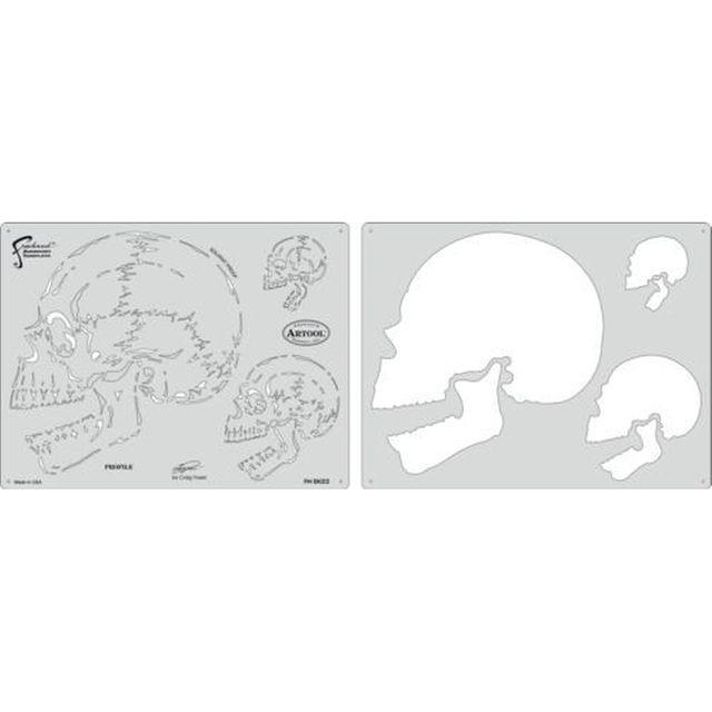 artool, Profile - Schablonenset, Horror of Skull  200 403