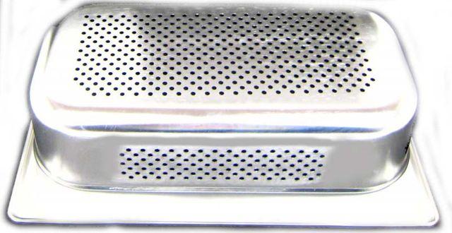 GN 1//3 Gastronormbehälter GN-Behälter Edelstahl 4 Liter Tiefe 100mm GELOCHT