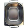 GN 1/2 Gastronormbehälter GN-Behälter Edelstahl 12,5 Liter Tiefe 200mm MIT FALLGRIFF