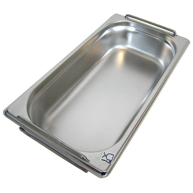 GN 1/3 Gastronormbehälter GN-Behälter Edelstahl 2,5 Liter Tiefe 65mm MIT FALLGRIFF