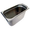 GN 1/3 Gastronormbehälter GN-Behälter Edelstahl 7,8 Liter Tiefe 200mm MIT FALLGRIFF