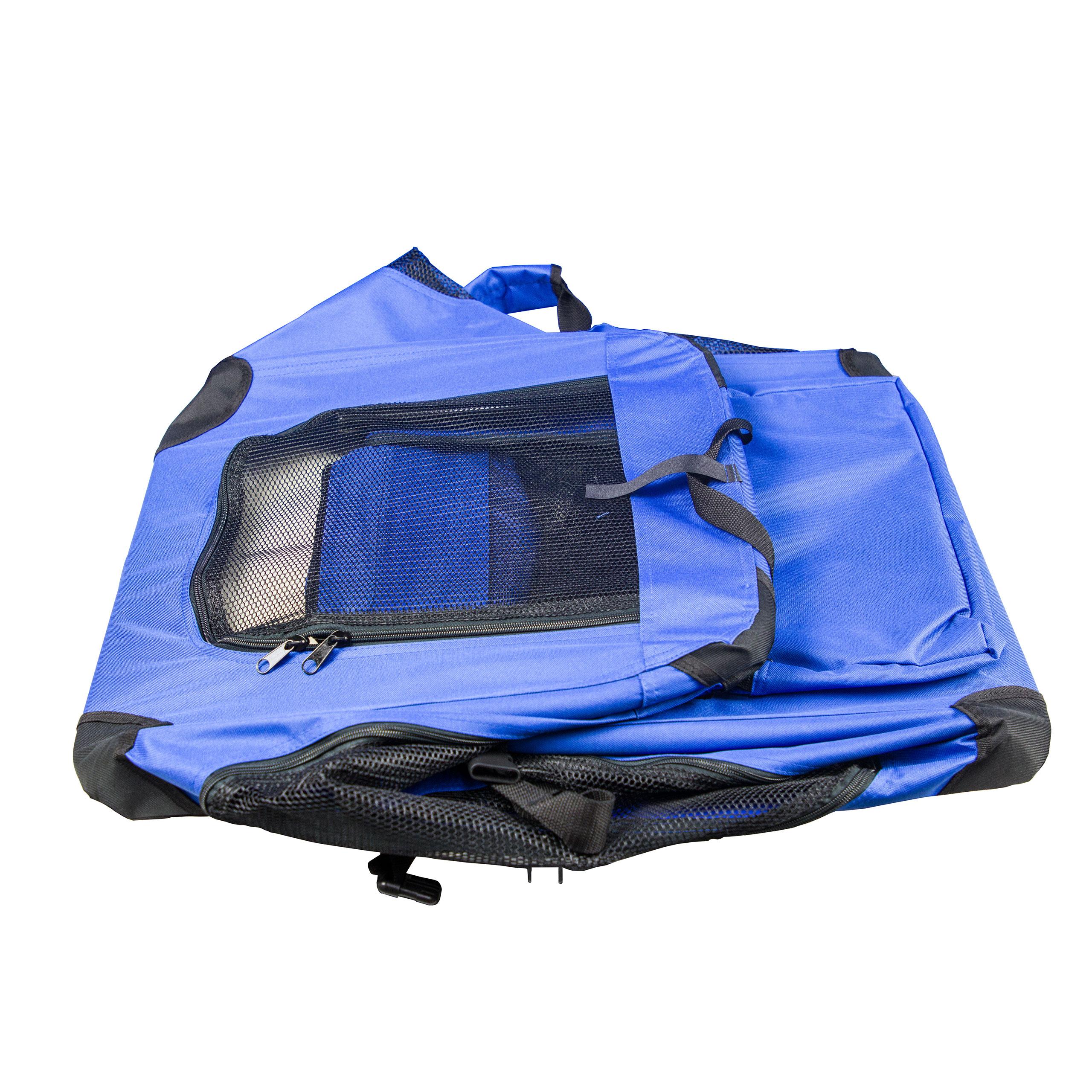 hundetragetasche gr e l hundebox blau transportbox katze. Black Bedroom Furniture Sets. Home Design Ideas