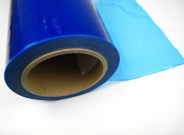 Schutzfolie 500mm x 100Meter selbstklebend blau ACMax