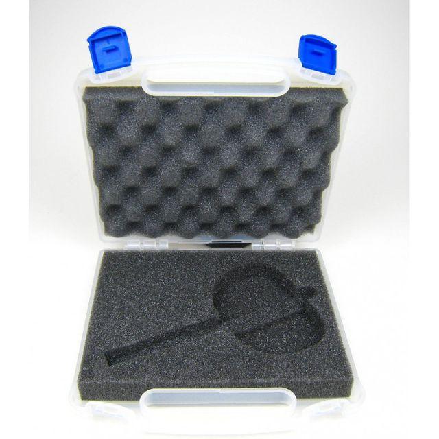 Kunststoffkoffer mit Schaumeinlage neutral für eine Pistole 000 008