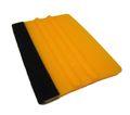 ABC Rakel orange mittelhart 10cm x 7,5cm mit Filz-Kante Filzrakel