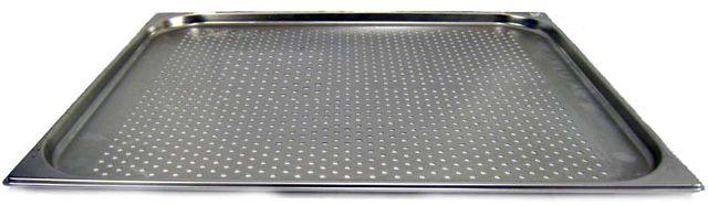 GN 2/1 Gastronormbehälter GN-Behälter Edelstahl 5,5 Liter Tiefe 20mm GELOCHT