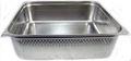 GN 2/1 Gastronormbehälter GN-Behälter Edelstahl 57,7 Liter Tiefe 200mm GELOCHT
