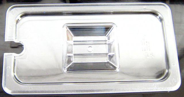 Kunststoff GN 1/3 Gastronormbehälter GN-Behälter Deckel mit Einkerbung