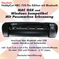 HobbyCut HBC-720 Pro Edition Schneideplotter mit Mac / Windows Software, Bluetooth
