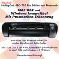 HobbyCut HBC-720 Pro Edition Schneideplotter mit Mac / Windows Software, Bluetooth