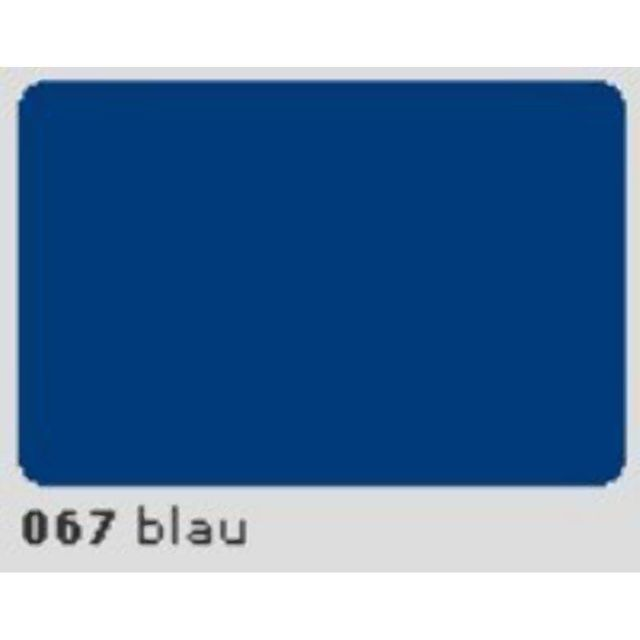 Oracal 651 Plotterfolie 63cm x 50m blau 067